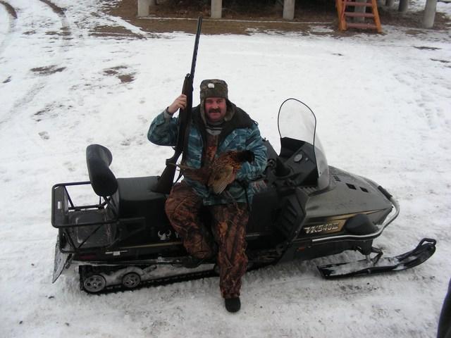 Зимняя охота на ахтубе