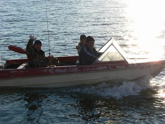 Ноябрь. Отличная погода для рыбалки на Волге и Ахтубе