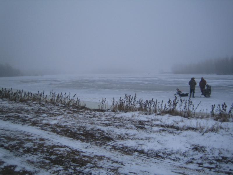 Зимняя рыбалка и отдых в